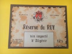3256 - Algérie   Réserve Du Roy - Etiquettes