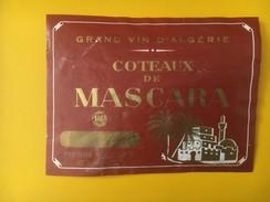 3258 - Algérie  Côteaux De Mascara - Etiquettes