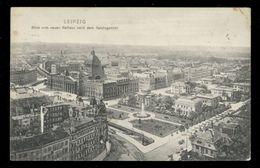 [021] Leipzig, Blick Vom Rathhaus Nach Dem Reichsgericht, Gel. 1910, Verlag Trinks & Co (Leipzig) - Leipzig