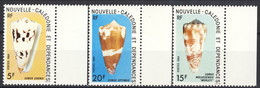 Nouvelle Caledonie 1984 Serie N. 481-483 MNH Cat. € 3.15 - Nuova Caledonia