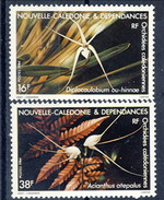 Nouvelle Caledonie 1984 Serie N. 488-489 MNH Cat. € 3.60 - Nuovi
