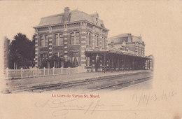 La Gare De Virton St Mard (Edition Vve Raty, Précurseur,... Réparée Au Dos) - Virton