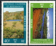 Nouvelle Caledonie 1986 Serie N. 525-526 MNH Cat. € 3.55 - Nuovi
