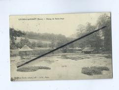 CPA  - Lyons La Forêt  (Eure) - Etang De Saint Paul - Lyons-la-Forêt