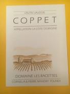 3288 - Suisse Vaud Coppet Domaine Les Racettes - Etiquettes