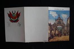 W - 560 - Pérou - Carte à Volets - Recuerdo Del Peru - Arco De Santa Clara CVZCO-PERV - Pas Circulé - Pérou