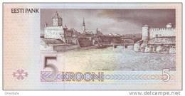 ESTONIA P. 76a 5 K 1994 UNC - Estonia