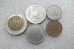 Russia - Soviet Union  1 - 10 Rubles ; 10,50 Kopecks , Used  1991(last Year Soviet Union) - Russie