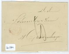 BRIEFOMSLAG Uit 1869 Van LEEUWARDEN Naar 's-Gravenhage (10.584) - Period 1852-1890 (Willem III)