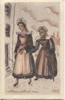 CPA - ILLUSTRATION JORGE MORIN - Types & Costumes BRETONS - Edition A.Delanoue - Bretagne