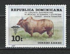 Dominikanische Rep. Mi 1176 ** MNH Zebu