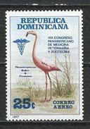 Dominikanische Rep. Mi 1177 ** MNH Phoenicopterus Ruber
