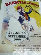 Affiche - Barbotan Les Thermes  Cazaubon IX Salon Des Antiquités 1999 - Affiches