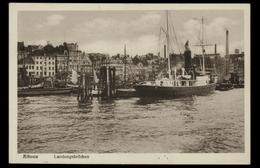 [022] Hamburg Altona, Landungsbrücken, ~1920 - Altona