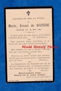 Faire Part De Décés - Marie , Ernest De ROZIERE - Décédé Le 18 Mai 1901 à Blois - Attaché D' Ambassade - Obituary Notices