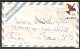 ARGENTINE   -  Lettre Pour La France.   Timbre  :   Avion - Lettres & Documents