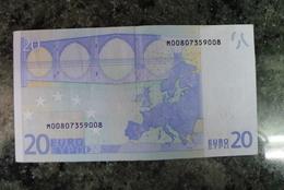 20 EURO M PORTUGAL H004F2 DUISENBERG!! - EURO