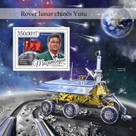 MOZAMBIQUE 2016 ** China´s Yutu Moon Rover Mondfahrzeug Space S/S - IMPERFORATED - A1702 - Space