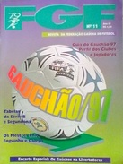 GUIDE DU CHAMPIONNAT GAUCHO (BRÉSIL) 1997 - Livres, BD, Revues