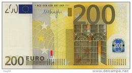 GERMANY 200 X R008 DRAGHI R008 UNC - EURO