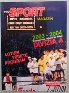 GUIDE DU CHAMPIONNAT DE ROUMANIE 2003/04 - Livres, BD, Revues