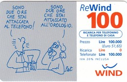 Lotto Di  6 Ricaricar Wind. - Schede Telefoniche