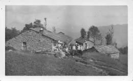 """06554 """"RUBIANA (TO) - GRANG(I)E AL COLLE DELLA FRAI - 13 SETTEMBRE 1926"""" ANIMATA. FOTOGR. ORIG. - Luoghi"""
