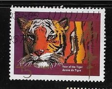 CANADA 1998. 1708 , CHINESE LUNAR YEAR TIGER,   USED - 1952-.... Règne D'Elizabeth II