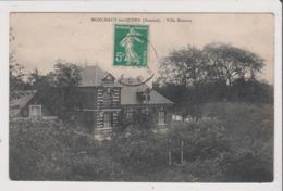 CPA - MONCHAUX LES QUEND - Villa Maurice - Francia