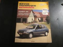 Rta Revue Technique Automobile Peugeot 205 Moteurs Essence Tous Types Jusqu'à Fin De Fabrication - Auto