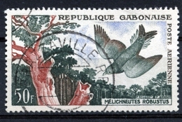 Gabon, 1961, Birds, Animals, Fauna, Used, Michel 166