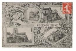 VAL  D' OISE  /  UN  BONJOUR  DE  SAINT-OUEN-L' AUMÔNE  ( Multivues ) - Saint-Ouen-l'Aumône