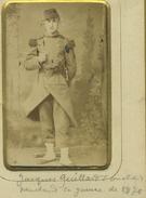 CDV. Jacques Quittard. Guerre De 1870-71. Ed. Dufour à Dijon. - Antiche (ante 1900)