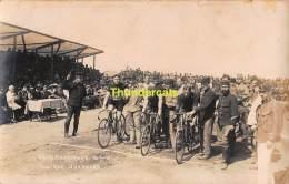 FOTOKAART CARTE DE PHOTO KAMP HARDERWIJK CAMP CYCLISME KOERS WIELRENNEN UURKOERS - Harderwijk