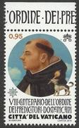 VATICANO 2016 - Centenario Della Fondazione Dominicana Serie Cpl. 1v.  Nuovi** - Vatican