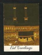 Saudi Arabia Picture Eid Greeting Card Holy Kaaba Mecca Picture View - Arabie Saoudite