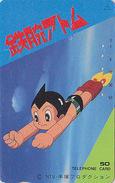 Télécarte Japon / 110-011 - MANGA - TEZUKA - ASTRO ATOM BOY - ANIME Japan Phonecard Telefonkarte - 7460 - Comics