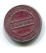 Toronto Transit Commission Ontario Canada Subway Fare Token - Professionals / Firms