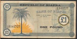 °°° BIAFRA - 1 POUND 1967 °°° - Altri – Africa
