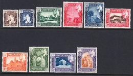 Aden Seiyun 1954 Mint Mounted, Sc# 29-38 SG 29-38 - Aden (1854-1963)