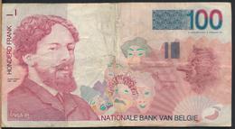°°° BELGIO BELGIUM - 100 FRANCS ENSOR °°° - [ 2] 1831-... : Regno Del Belgio