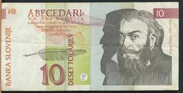 °°° SLOVENIA - 10 TOLARJEV 1992 °°° - Slovenia