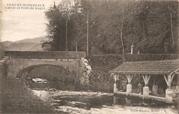 Prat Et Bonrepaux Lavoir Et Pont Du Bugot - France