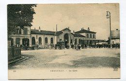 CPA  60 : CHANTILLY   La Gare    VOIR  DESCRIPTIF  §§§ - Chantilly