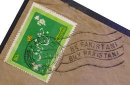 BE PAKISTANI BUY PAKISTANI, Slogan Postmark On Cover Postal Used, Postal History From PAKISTAN - Pakistan