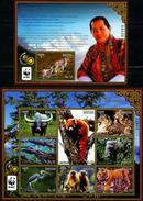 SA0400 Bhutan 2016 Protection Of Endangered Animals M/s MNH - Bhután