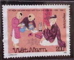 Vietnam Viet Nam Mint Perf Recalled Stamp 1992 : 700th Death Anniversary Of Chu Van An - Vietnam