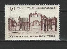 "FR YT 939 "" Grille Château De Versailles "" 1952 Neuf** - Neufs"