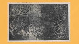 CPSM - CAMBODGE- ANGKOR VAT   DES  BAS-RELIEF DECORATIFS. - Cambodge