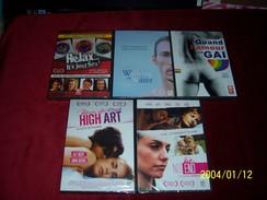Le Meilleur Du Cinema Gay  Pour Lui Et Pour Elle °°   LOT DE 5 DVD HIGH ART + NO END + WALKING WATER + RELAX IT'S JUST S - Non Classés